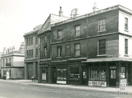 York Place, London Road, looking East, c.1935