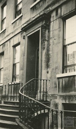 8 York Place, Doorway, c.1915