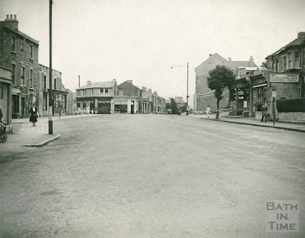 Wells Road at Bear Flat, c.1950s
