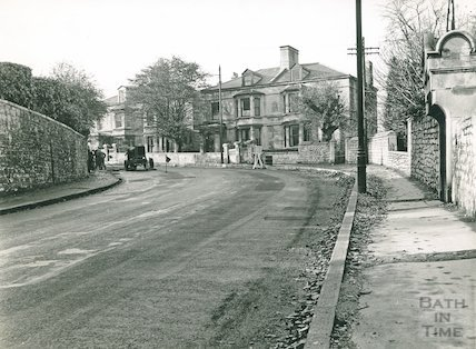 Road repairs of the Wells Road, c.1950s