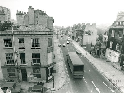 London Road - Corner of Thomas Street, 1978