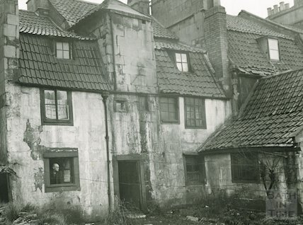 Back of Milk Street c.1930 - detail