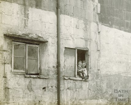 Rear of Milk Street c.1930 - detail