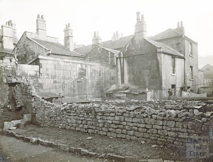 Rear of Milk Street, c.1930s