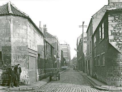 Back Street looking East, c.1930s