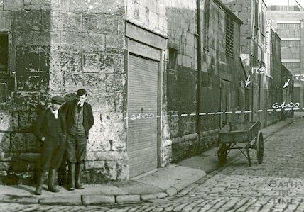 Back Street looking East c.1930 - detail