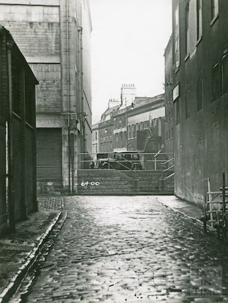 Back Street junction with Ambury, c.1930s