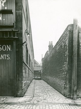 Narrow Quay, off Back Street, c.1930s