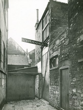 The end of Narrow Quay, off Back Street, c.1930s