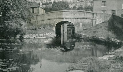The Kennet and Avon Canal, Widcombe, Bath c.1960