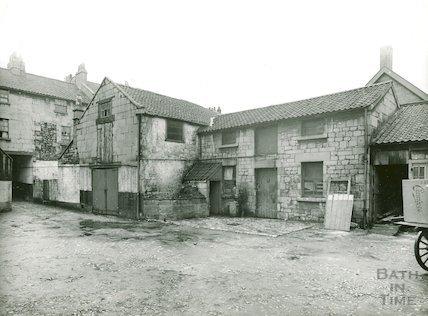 Bowler's Yard, back of Avon Street, c.1930s