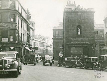 Busy traffic on New Bond Street and Burton Street, c.1930s