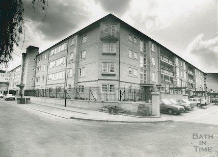 Kingsmead Flats, Kingsmead East and West, 1992