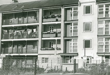 Kingsmead East, West and North Flats, c.1992