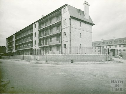Kingsmead West Flats, c.1935