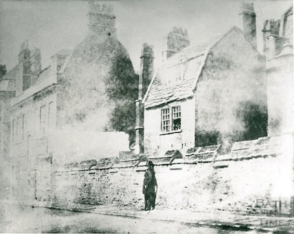 Upper Borough Walls, beside the ancient city wall, c.1845?