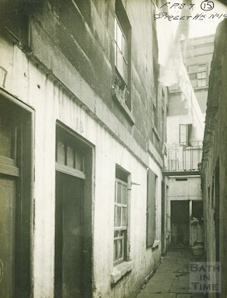 Corner of Little Corn Street and New Quay, c.1930s