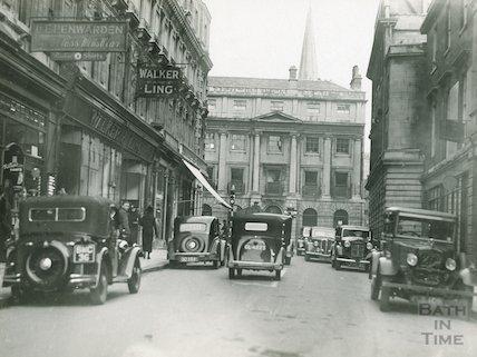 Quiet Street looking towards Milsom Street, c.1930s
