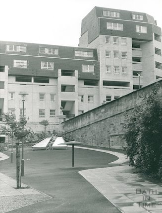 Ballance Street play area, August 1972