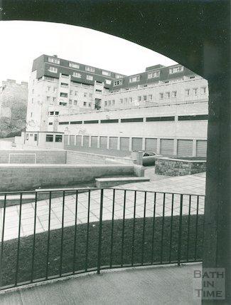 Ballance Street showing new development, 1976