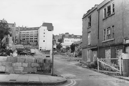 Ballance Street demolition, 1971