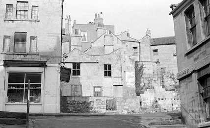 The end of Ballance Street as it meets Mount Pleasant, 1968
