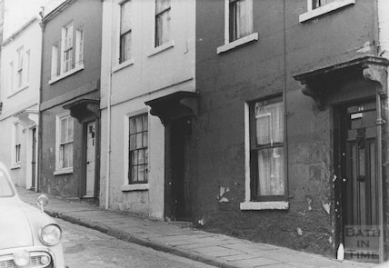 Ballance Street, numbers 14-17, 1968