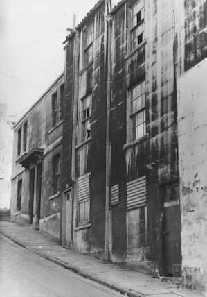 Ballance Street, numbers 23-26, 1968