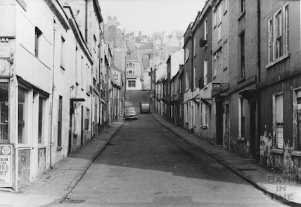 Ballance Street from bottom (Julian Road), 1968