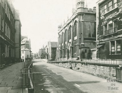 Julian Road looking west, c.1950s