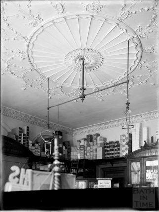Interior of Wood & Co., stationers, 12, Old Bond Street, Bath c.1903