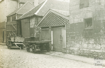Little Corn Street c.1930 - detail