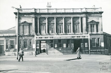 The front elevation to Green Park station, c.1960s