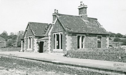The derelict Bitton station, 29 April 1973