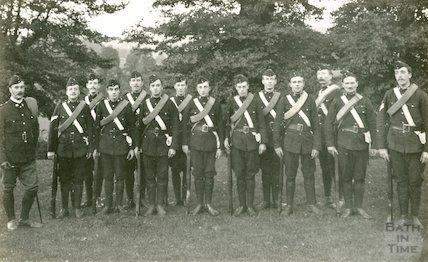 Somerset Light Infantry, Bath, c.1905