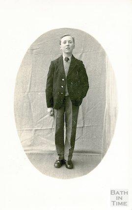 Portrait of an unidentified boy, c.1920s