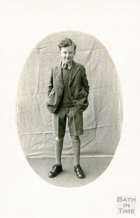 Portrait of an unidentified boy, c.1920s
