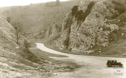 Burrington Combe, Somerset, c.1920s