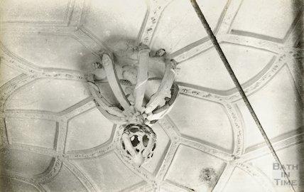 Unidentified ceiling plasterwork, c.1930s?