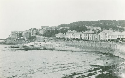 Clevedon seafront, c.1920s