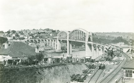 Brunel's Royal Albert Bridge, Plymouth, c.1920s