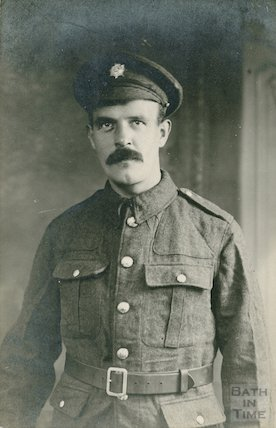 Sergeant Sidney Bence No. 2029 of Batheaston, c.1915