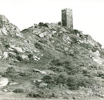 Brent Tor, near Lydford, Dartmoor, Devon, c.1906