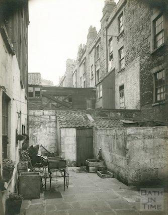 Rear of Peter Street