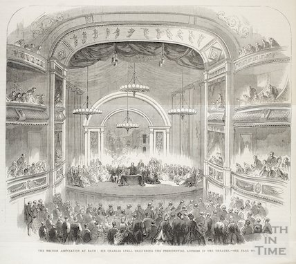 The British Association at Theatre Royal, Bath, Sept 1864