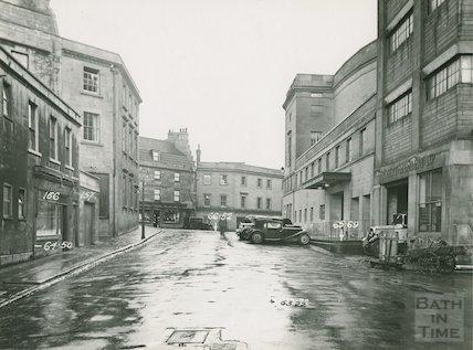 Corn Street looking towards St. James Parade, c.1930s