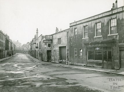 Corn Street, looking towards Avon Street. North side, c.1930s