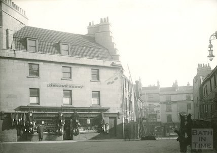 Corn Street, north Side. Corner showing Newman & co. pawnbrokers, opposite Ambury intersection, 1932