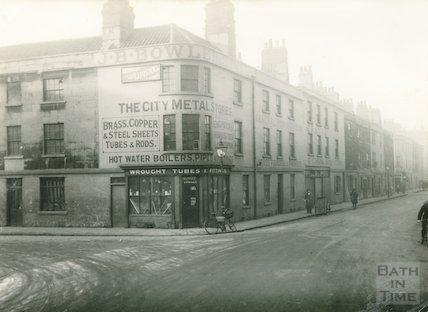 Corner of Corn Street and the Ambury, 1933