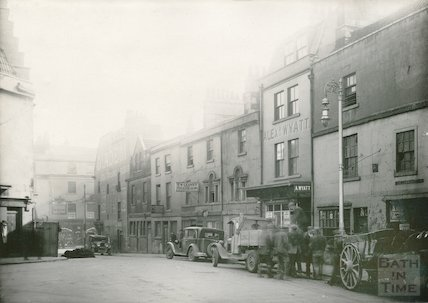 Corn Street, looking towards Southgate, 1933